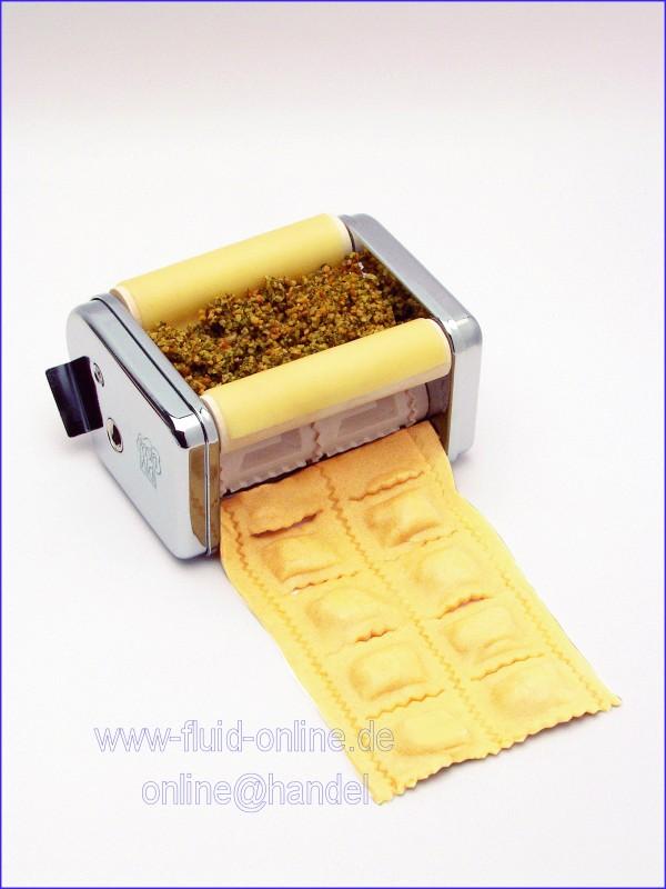 PastaAid Aufsatz Ravioli 2160 (Quadrat) für Nudelmaschine Julia 150