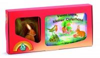 ostheimer-70110-set-vielen-dank-kleiner-osterhase-buch---hase-15001